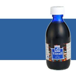 Pintura Cristal Azul Vitrail Lefranc, 50 ml.