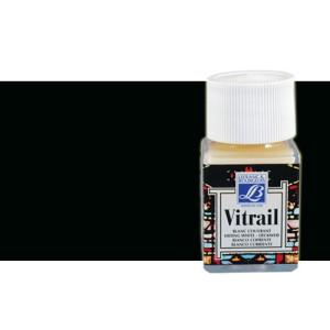 Totenart. Pintura Cristal Negro Vitrail Lefranc, 50 ml.
