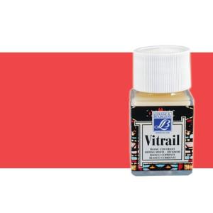 Totenart. Pintura Cristal Rojo Vivo Vitrail Lefranc, 50 ml.