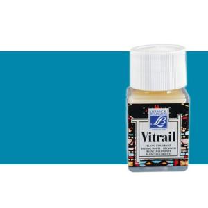 Totenart. Pintura Cristal Turquesa Vitrail Lefranc, 50 ml.