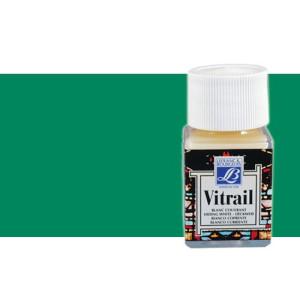 Totenart. Pintura Cristal Verde Intenso Vitrail Lefranc, 50 ml.