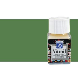 Totenart. Pintura Cristal Verde Oliva Vitrail Lefranc, 50 ml.