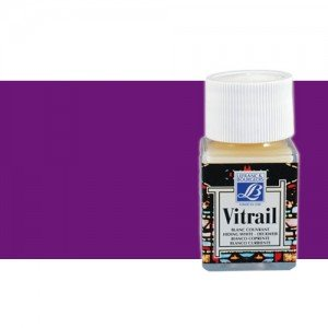 Totenart. Pintura Cristal Violeta Vitrail Lefranc, 50 ml.