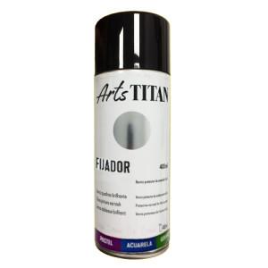 Barniz Fijador SPRAY Titan, 400 ml.