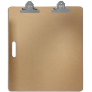 Soporte para Dibujo con doble pinza 55x63 cm.