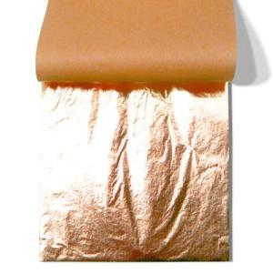Pan de Cobre imitacion TRANSFERIBLE, librito 25 h. 14x14 cm.