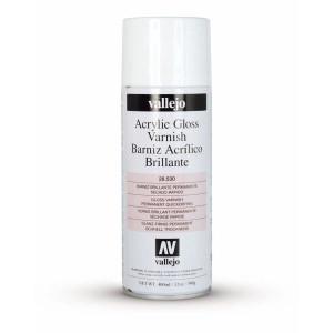 Barniz acrílico brillante Vallejo en spray  (400 ml)