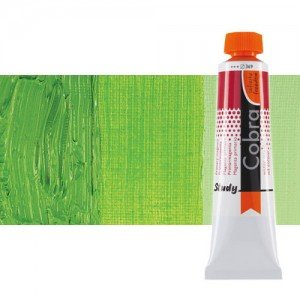 Óleo al agua Cobra Study color verde permanente claro (200 ml)