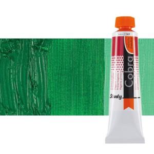 Óleo al agua Cobra Study color verde permanente oscuro (40 ml)