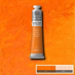 Óleo Winsor & Newton Winton color tono naranja cadmio (200 ml)