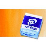 Acuarela Van Gogh en pastilla color Naranja Permanente, 266
