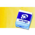 Acuarela Van Gogh en pastilla color amarillo transparente medio, 272