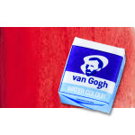 Acuarela Van Gogh en pastilla color rojo permanente oscuro, 371