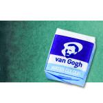 Acuarela Van Gogh en pastilla color verde esmeralda, 616