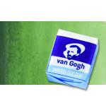 Acuarela Van Gogh en pastilla color verde Hooker claro, 644