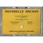 Acuarela Arches 185 gr, 23x31 cm, G. Grueso, block 20 h.