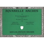 Acuarela Arches 300 gr, 23x31 cm, G. Fino, block 20 h.