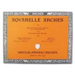 Acuarela Arches 300 gr, 36x51 cm, G. Grueso, block 20 h.