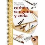 Cuaderno para empezar a dibujar con carbon y creta, Parramon