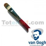 Pincel sintético Van Gogh serie 277 lengua de gato (nº 12)