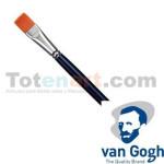Pincel sintético Van Gogh serie 294 plano (nº 02)