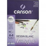 Block Imagine Canson, 29.7x42 cm, 200 gr, 50 h.