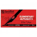 Alfabetos elementales Speedball