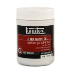 Gel Medium volumiz. mate opaco Gelex, Liquitex 237 ml.