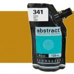 Acrilico Sennelier Abstract Ocre Amarillo 252B, 120 ml.