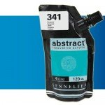 Acrilico Sennelier Abstract Azul fluo 304, 120 ml.