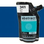 Acrilico Sennelier Abstract Azul Ultramar 314B, 120 ml.