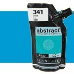 Acrilico Sennelier Abstract Azul Celeste 320, 120 ml.