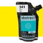Acrilico Sennelier Abstract Amarillo Cadmio Limon tono 545, 120 ml.