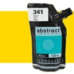 Acrilico Sennelier Abstract Amarillo Primario 574B, 120 ml.