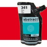 Acrilico Sennelier Abstract Rojo Cadmio Claro Tono 613, 120 ml.