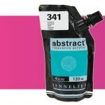 Acrilico Sennelier Abstract Rosa Fluo 654, 120 ml.