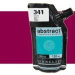 Acrilico Sennelier Abstract Magenta Oscuro 671, 120 ml.
