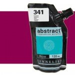 Acrilico Sennelier Abstract Magenta Oscuro 671B, 120 ml.