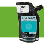 Acrilico Sennelier Abstract Verde Amarillo 871, 120 ml.