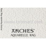 Infinity Arches Aquarelle Rag, 240 gr., A4, caja 10 uds.