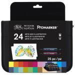 Rotulador Promarker Winsor & Newton , set 24 uds. Arte e Ilustración