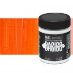 Acrílico Liquitex Basics color naranja cadmio (946 ml)