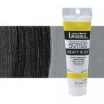 Acrílico Liquitex Heavy Body color negro marfil (59 ml)