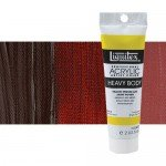 Acrílico Liquitex Heavy Body color tono rojo Van Dyke (59 ml)