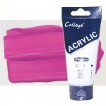 Acrílico Schmincke color magenta College (200 ml)