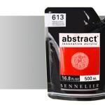 Acrilico Sennelier Abstract Plata iridiscente, 500 ml.
