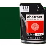 Acrilico Sennelier Abstract Verde Hooker 809, 500 ml.