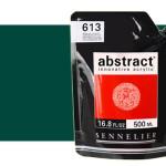 Acrilico Sennelier Abstract Verde Ftalo 896, 500 ml.