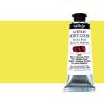 Acrílico Vallejo Artist n. 505 color amarillo de titanio (60 ml)