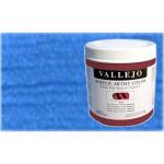 Acrílico Vallejo Artist n. 714 color azul iridiscente (500 ml)